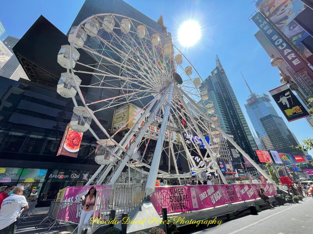 Times Square Ferris Wheel Opens
