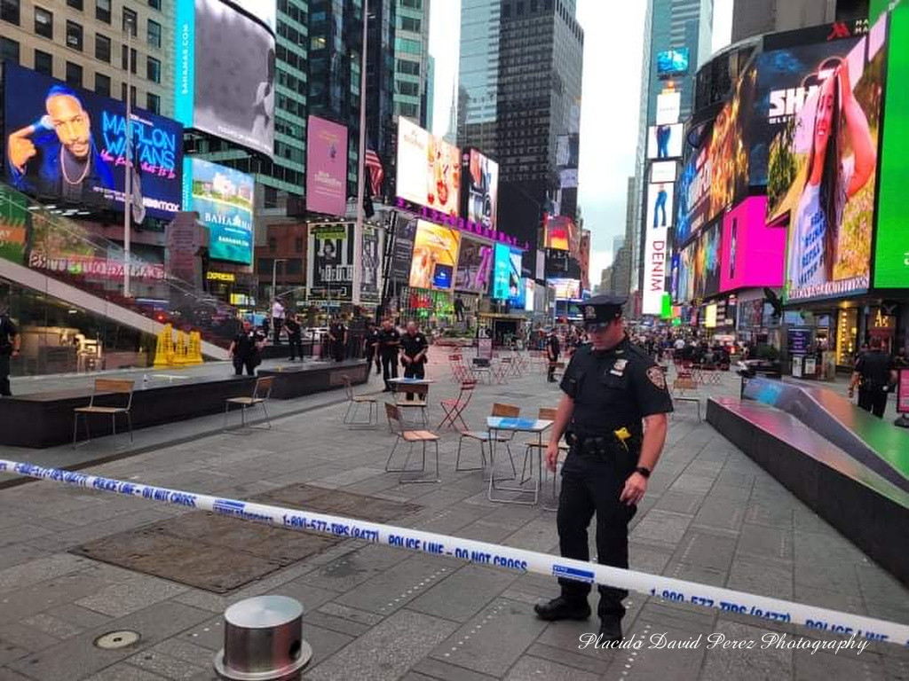 Time Square Chaos