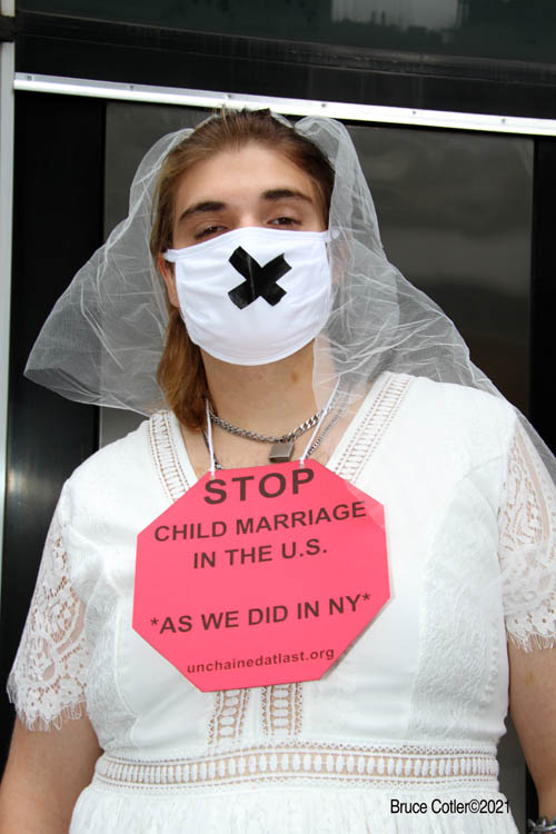 Underage Brides Rally