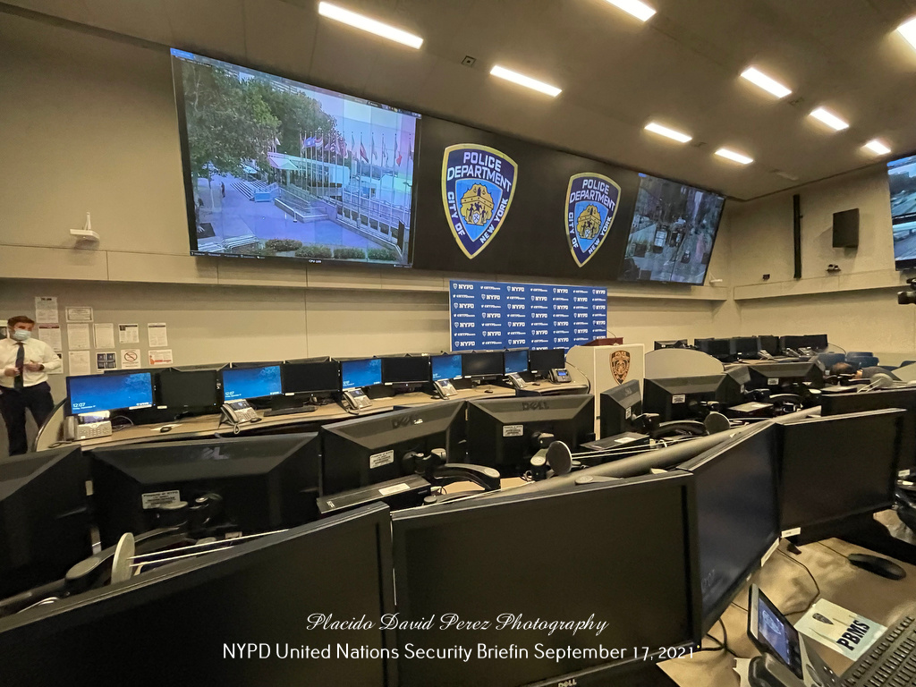 NYPD One Police Plaza United Nations Security Briefing