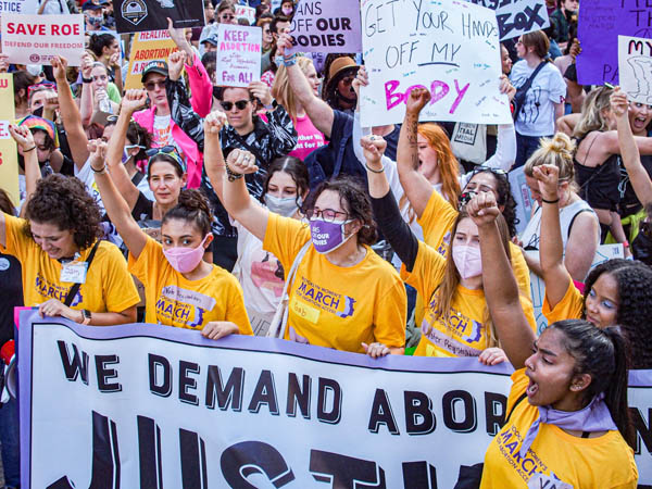 Rally For Abortion Justice
