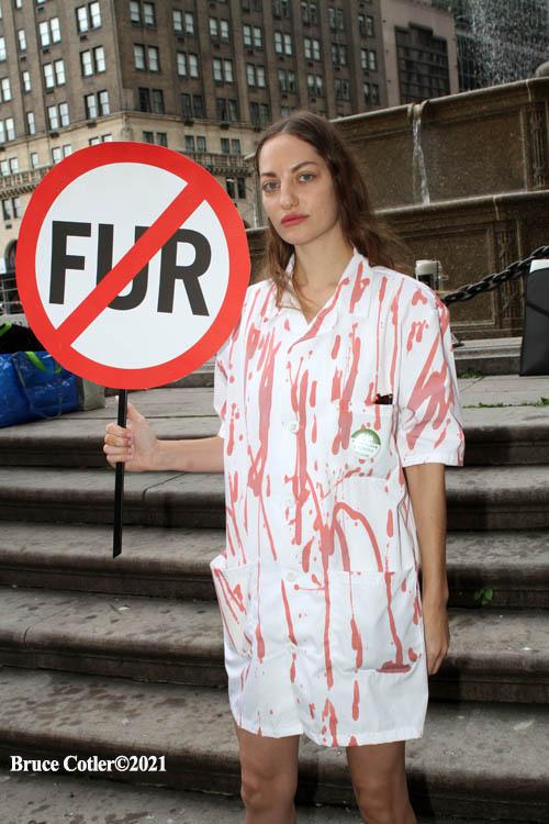 Anti Fur Protest