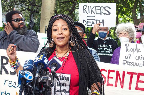 Rikers Island Prison Protest